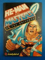 Vintage Book MASTERS OF THE UNIVERSE Annual Ladybird 1985 He Man