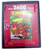 Vintage Atari 2600 Donkey Kong (Red Label) Video Game Cartridge Only