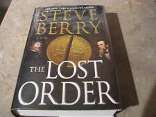 LOST ORDER   STEVE BERRY SIGNED BRAND NEW UNREAD TRUE 1 PRINTING