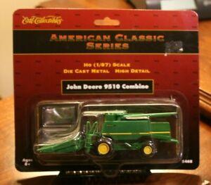 American Classic Die Cast Metal John Deere 9510 Combine