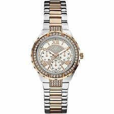 GUESS W0111L4 Women's Wrist Watch in White Dial