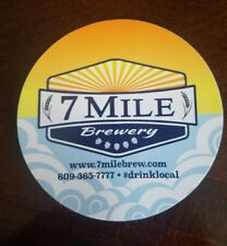 7 Mile Craft Beer Brewery sticker Cape May New Jersey