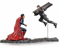 Man Of Steel Superman vs Zod 1:12 Scale Statue Gentle Giant DC Collectibles New