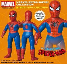 "Amazing SPIDER-MAN Medicom SOFUBI Previews EXCL RETRO 10"" VINYL Action Figure"