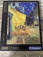 Clementoni 1000 Piece Museum Jigsaw Puzzle Van Gogh Cafe Terrace At Night