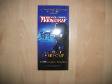 **The Mousetrap Agatha Christie 60th Anniversary  Theatre Royal Newcastle Flyer*