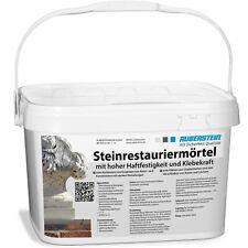 Ruberstein®  Steinrestauriermörtel Sandstein reparieren Steinpaste beige 10kg