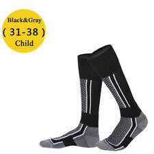 Adult Child Thermal Snow Ski Long Boot Socks Winter Warm Sport Hiking Socks
