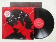"""LP 33T SANTANA """"Zebop !"""" CBS 84946 HOLLAND #1 §"""
