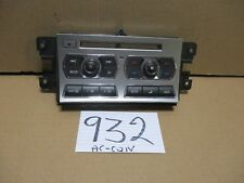 09 10 11 12 Jaguar XF RADIO AC and Heater Control Panel Used Stock #932-AC