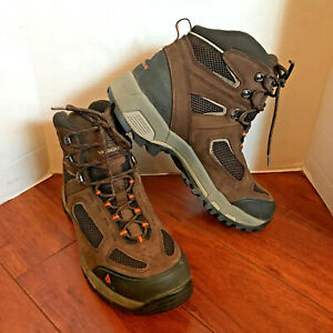 Vasque Gore Tex Mens Work Boots Hiking Climbing Shoes 7482 Wide Sneakers 12W EUC