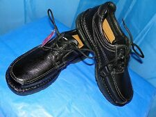BASS BLACK PEBBLE LEATHER MEN'S SHOES SPRUCE- 1747-001 SIZE 9M NEW WITH TAG