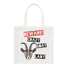 Méfiez-vous fou chèvre femmes PETIT SAC FOURRE-TOUT - Drôle Animal épaule