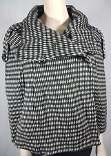 Zara Wool Cashmere Soft Cape Size M Black Grey Sleeveless Jacket Winter Wrap
