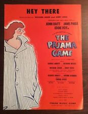 Hey There (1954, Sheet Music) The Pajama Game by Adler & Ross SheetNoteMusic.com