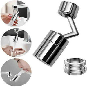 Kitchen 720° Rotatable Faucet Filter Swivel Tap Head Water Saving Nozzle Adapter