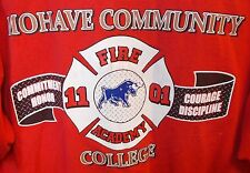 MOHAVE COMMUNITY COLLEGE Fire Academy xxl 2xl t shirt Arizona GILDAN