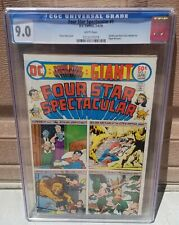 FOUR STAR SPECTACULAR #1 CGC 9.0 WHITE Pages Wonder Woman Justice League America