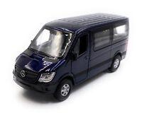 Mercedes Benz Sprinter Fenster Blau Modellauto Auto Maßstab 1:34 (lizensiert)