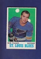 Bob Plager 1970-71 O-PEE-CHEE Hockey #211 (EXMT) St. Louis Blues