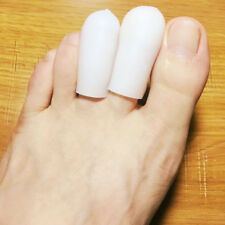 10Pcs Silicone Gel Toe Tube Caps Foot Corns Remover Blisters Toe Protector Nice