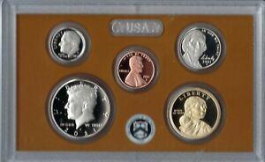 2021-S US Mint Partial Proof Set. 5 Clad Proof Coins.