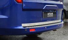 CHROME PORTA posteriore portellone Trim Striscia di copertura per adattarsi FORD TRANSIT CUSTOM (2012+)