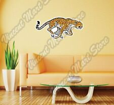 "Running Cheetah Wild African Animal Wall Sticker Room Interior Decor 25""X12"""