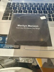 marilyn manson cd promo third day of a seven binge