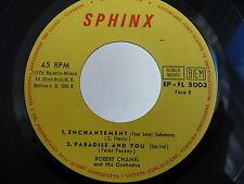 ROBERT CHANEL Dancing droplets .. EP FL 5003 SPHINX