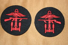 BRITISH ARMY Combined Operations Felt Sew on patch