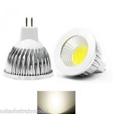 Lampada faretto lampadina MR16 LED COB spot 120° 15 12 9  W 12V  caldo  o solare