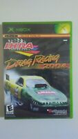 IHRA DRAG RACING 2004 (Microsoft Xbox, 2004) COMPLETE & TESTED! GREAT GAME