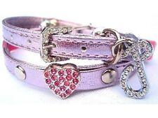 Puchi Rose Swarovski Coeur Collier