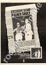 Robert Palmer Sneakin' Sally Through The Alley ILPS 9294 MM4 LP Advert 1974