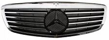 Mercedes Benz S-Class S550 S600 W221 07-09 Front Grille Chrome&Black New Style