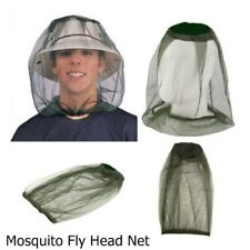 Mosquito Fly Head Net Headnet | Camping Hiking Fruit Protector Farm Picking Job