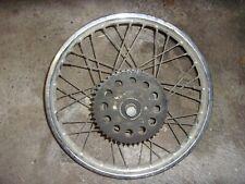 Suzuki 125 GT Roue Arriére Rear Wheel