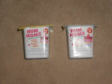 NEW, NUM NOMS BLIND BOX, SCENTED LIP GLOSS OR STAMP, SERIES 2, SET OF 2