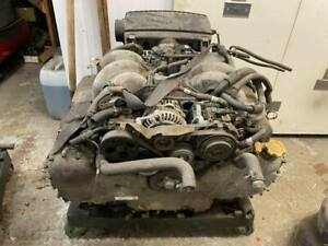 Subaru Legacy outback 3.0 H6 complete engine long motor 2002