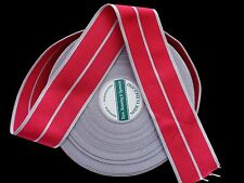One Metre of Full Size Replacement Medal Ribbon for 2nd Type Military OBE / MBE