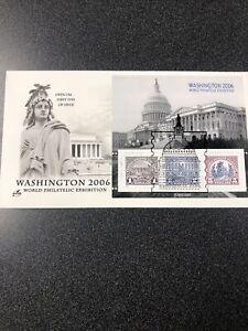 US 4075 WASHINGTON 2006 WORLD PHILATELIC EXHIBITION Souvenir First Day Cover
