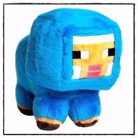 JINX Mojang Genuine Minecraft Blue Baby Sheep Plush Stuffed Toy 70821AYK