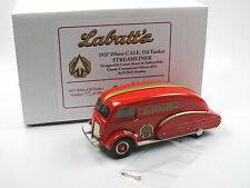 DMP Studios/Brooklin - 1937 White COE Oil Tanker Streamliner LABATT'S 1/43 NEW!!