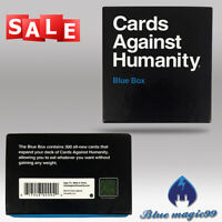 Cards Against Humanity BLUE Box Expansion Pack New sealed uk fast post GAME Card