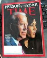 TIME MAGAZINE DECEMBER 21 - 28TH 2020- BIDEN & HARRIS PERSONS OF THE YEAR
