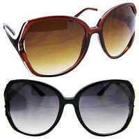 Oversized Vintage Style Women Sunglasses Designer Fashion Large Frame Glasses