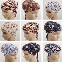 Muslim Women Inner Caps Islamic Hijab Cancer Chemo Stretch Turban Hair Loss Hat