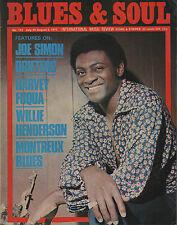 Joe Simon Blues & Soul Issue 114 1973    Harvey Fuqua    The Drifters    Reggae