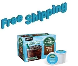 Green Mountain Brew Over Ice Classic Black Coffee Keurig k-cups